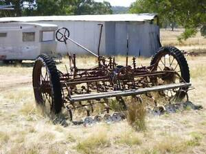 Old Farm Seeder Koorawatha Cowra Area Preview
