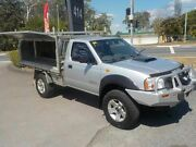 2009 Nissan Navara D22 MY08 DX (4x4) Silver 5 Speed Manual Cab Chassis Deception Bay Caboolture Area Preview