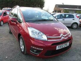 image for 2012 12 CITROEN C4 GRAND PICASSO 1.6 VTR PLUS HDI 5DR SERVICE HISTORY LOW MILES