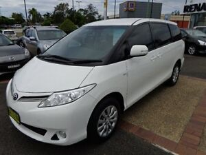 2011 Toyota Tarago ACR50R MY09 GLi White 4 Speed Automatic Wagon