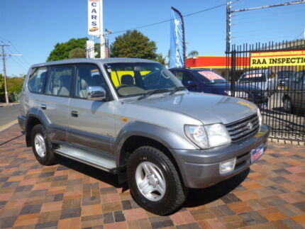TOYOTA LANDCRUISER PRADO GRANDE (4x4) VZJ95R 4D WAGON Gepps Cross Port Adelaide Area Preview