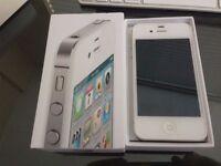 Apple iPhone 4s Factory Unlocked- 16GB -White - Brand New