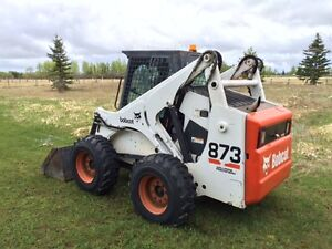 Bobcat 873 Skid Steer with Heated Cab