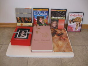 BARBRA STREISAND CDS AND DVDS AND 45 RECORD -OFFERS