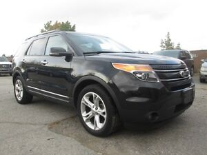 2013 Ford Explorer LIMITED PANO ROOF LEATHER BLUETOOTH!!