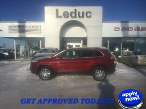 2015 Jeep Cherokee Limited WITH 5YR/120000KM EXTENDED WARRANTY