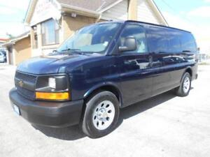 2012 CHEVROLET Express LS ALL WHEEL DRIVE 8Passenger ONLY 53K