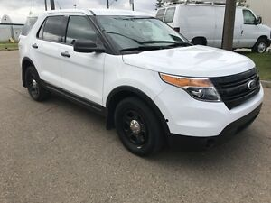 2015 Ford Utility Police Interceptor - ALL WHEEL DRIVE