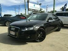 2008 Audi A4 B8 8K Multitronic Black 8 SPEED Sedan Southport Gold Coast City Preview