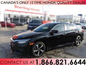 2016 Honda Civic Sedan TOURING | 1 OWNER | NO ACCIDENTS