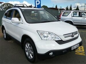 2008 Honda CR-V RE Luxury White Automatic Wagon Mount Druitt Blacktown Area Preview
