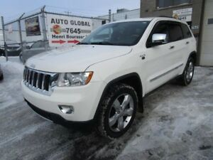 Jeep Grand Cherokee 4WD 4dr Overland,DVD,TOIT PANO, 2012