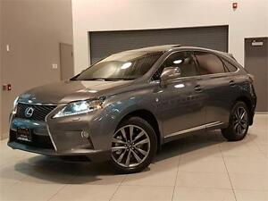 2013 Lexus RX 350 F SPORT-NAVIGATION-LOADED