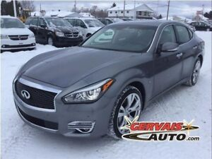 Infiniti Q70 L 5.6 AWD Navigation Cuir Toit Ouvrant MAGS 2015