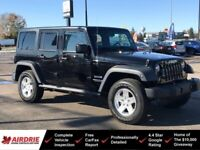 2012 Jeep Wrangler Unlimited Sport 4x4 - One Owner! Clean Carfax