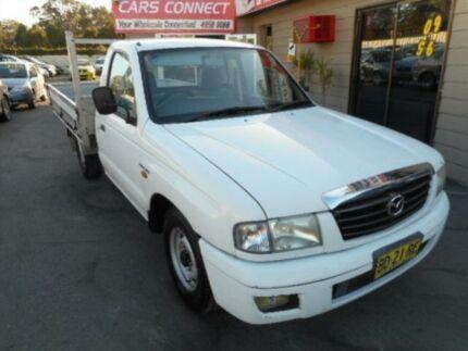 2003 Mazda B2600 Bravo DX White 5 Speed Manual Cab Chassis Edgeworth Lake Macquarie Area Preview