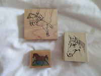 Bundle of 15 Crafting stamps - Some NEW