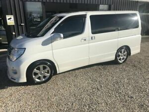 2006 Nissan Elgrand E51 Highway Star White 5 Speed Automatic Wagon Arundel Gold Coast City Preview