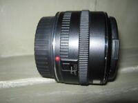 CANON EF 50mm f1.8 MK1 METAL MOUNT LENS