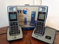 BT2000 Twin Digital Cordless Phones. £20.