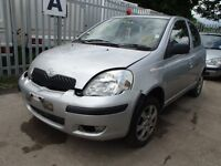 TOYOTA YARIS FOR PARTS AND BREAKING