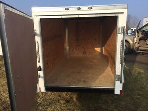 Brand New 2017 5X8 Enclosed Trailer Only $ 2250! London Ontario image 2