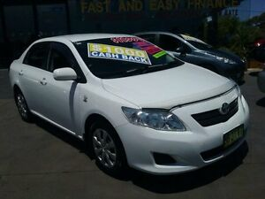 2009 Toyota Corolla ZRE152R MY09 Ascent White 4 Speed Automatic Sedan Greenacre Bankstown Area Preview