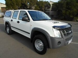 2010 Isuzu D-MAX TF MY10 LS (4x2) White 4 Speed Automatic Crewcab Maidstone Maribyrnong Area Preview