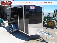 2016 NEO ALL ALUMINUM - PERFECT MOTORCYCLE TRAILER 5 X 11