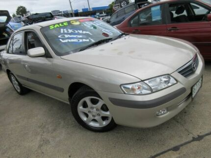 2000 Mazda 626 GF Classic Gold 5 Speed Manual Sedan Yeerongpilly Brisbane South West Preview