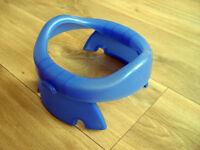 Foldaway compact travel potty