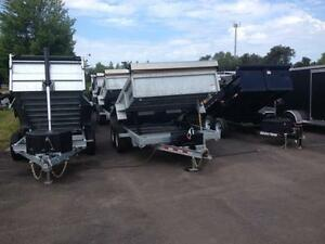 WORK & PLAY DUMP TRAILERS- IN STOCK