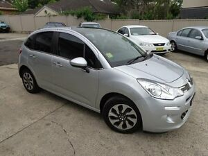 2013 Citroen C3 A5 MY14 Seduction 1.2 Silver 5 Speed Manual Hatchback Sylvania Sutherland Area Preview