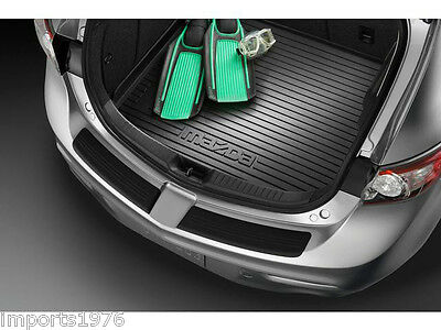 2010 - 2013 Mazda3 Genuine OEM Cargo Tray Liner Black : Fits 5 door / Hatchback