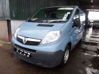CHOICE OF 6/ ALL 2010 YEARS MOT PRICED TO GO VAUXHALL VIVARO 2700 CDTI SWB - 1995CC