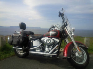 2013 Harley Davidson Heritage Classic Softail For Sale.