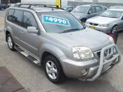 2002 Nissan X-Trail T30 Ti Luxury Silver 4 Speed Automatic Wagon Broadmeadow Newcastle Area Preview