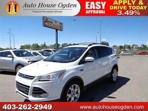2013 FORD ESCAPE SE AWD ECOBT LEATHER NAVIGATION B CAM PANO ROOF