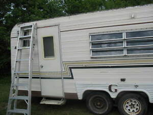 Assorted RV windows and doors