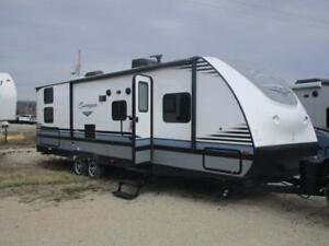 2018 FOREST RIVER SURVEYOR 295QBLE QUAD BUNK