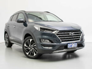 2019 Hyundai Tucson TL3 MY19 Highlander CRDi (AWD) Dusk Blue 8 Speed Automatic Wagon Jandakot Cockburn Area Preview