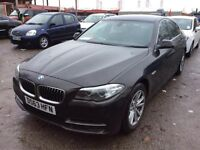 BMW 5 SERIES 520D 2013 63 plate 4dr Step Auto SALOON 1 OWNER NOT PRIUS, MERCEDES, AUDI, VOLKSWAGEN