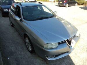 2003 Alfa Romeo 156 JTS Selespeed Silver 5 Speed Automatic Selespeed Wagon Burwood Burwood Area Preview