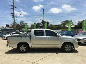 2012 Toyota Hilux GGN15R MY12 SR5 Double Cab Silver Automatic Utility Southport Gold Coast City Preview