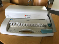 Rexel CB 256 Comb Binding Machine and binders