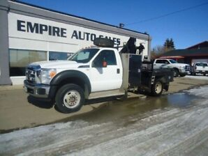 2012 Ford Super Duty F-550 DRW XLT 4x4 Regular Cab Chassis Cab 140.8 in. WB