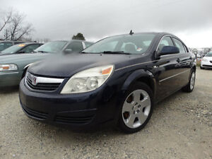 2007 SATURN AURA XE AUTOMATIC LOADED BLUE WITH TAN