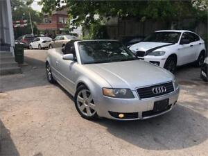*CERTIFIED* 2004 AUDI A4 CONVERTIBLE
