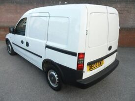 £7.5 Small Van with Driver for Hire