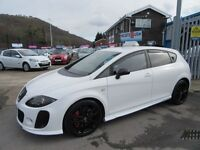 SEAT Leon CUPRA TSI 5d 237 BHP rare car wont be in stock long ! (white) 2008